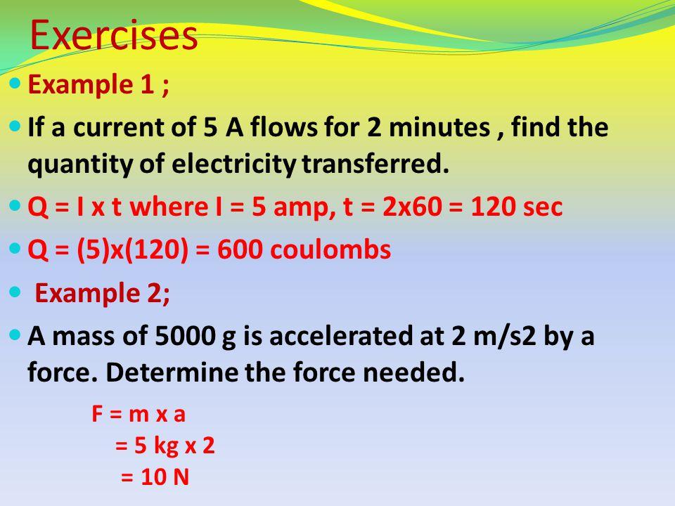 Answer ; a) 0.356 V b) 0.5M c) 0.00002 F d) 0.047 µF e) 1.8 MΩ