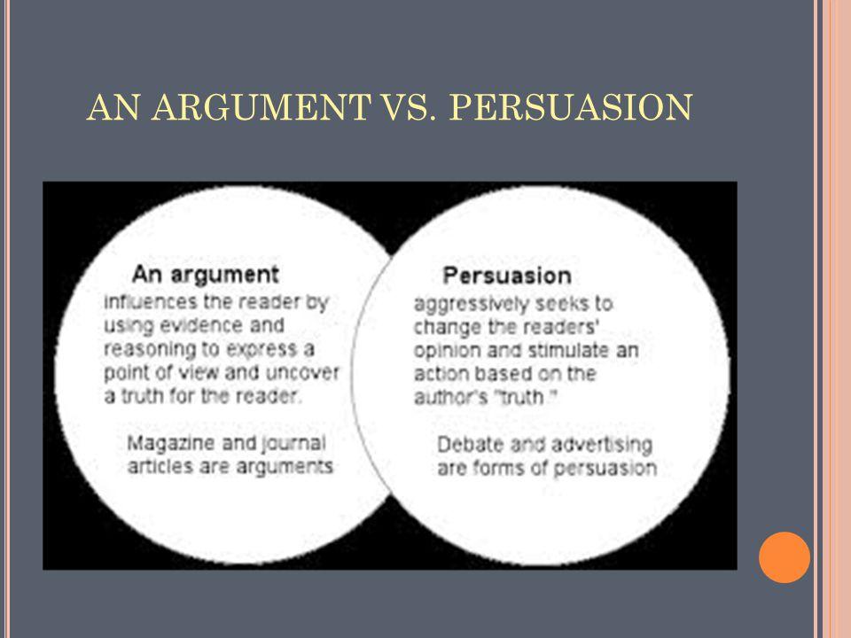 SO YOU THINK YOU CAN Argumentative/Pe rsuasive Writing ARGUE