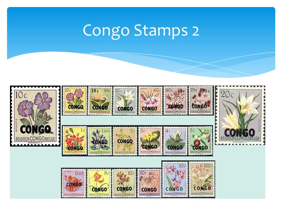 Congo Stamps 2