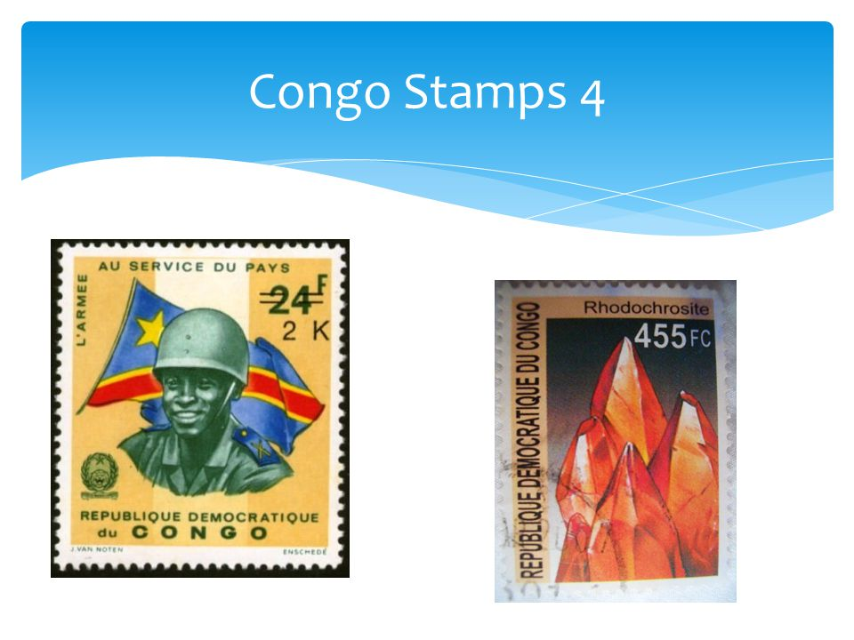 Congo Stamps 4