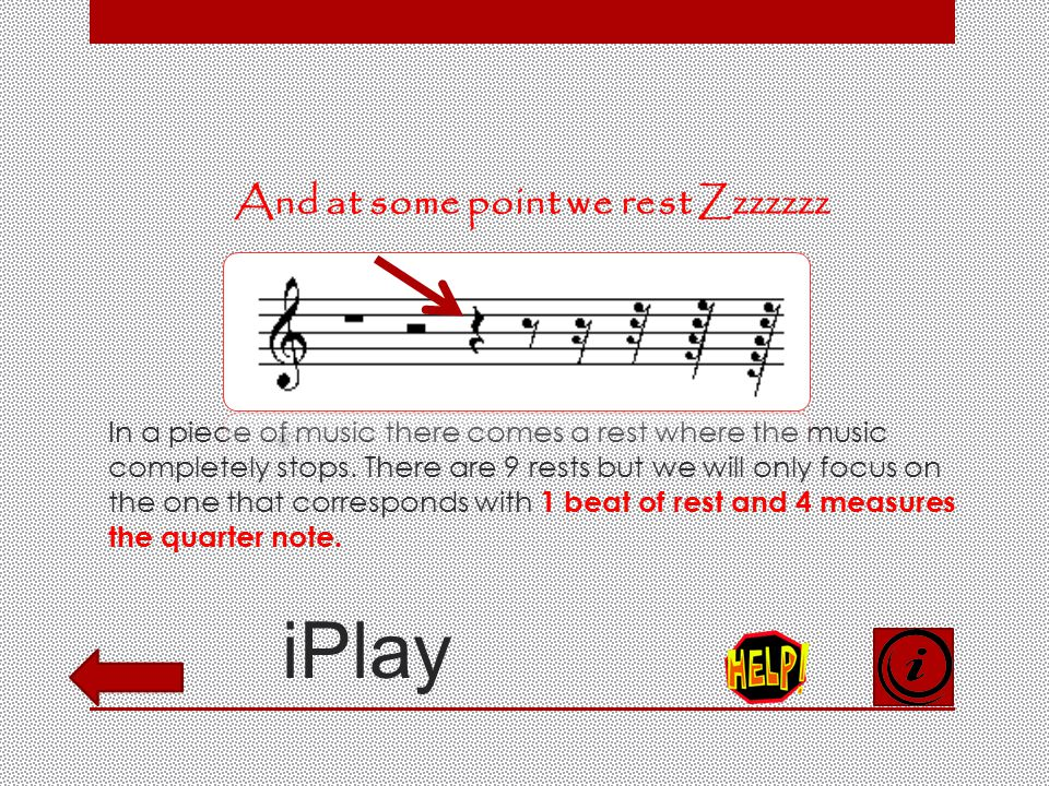 iPlay What is the quarter note. The quarter note is played for a quarter duration of the time.