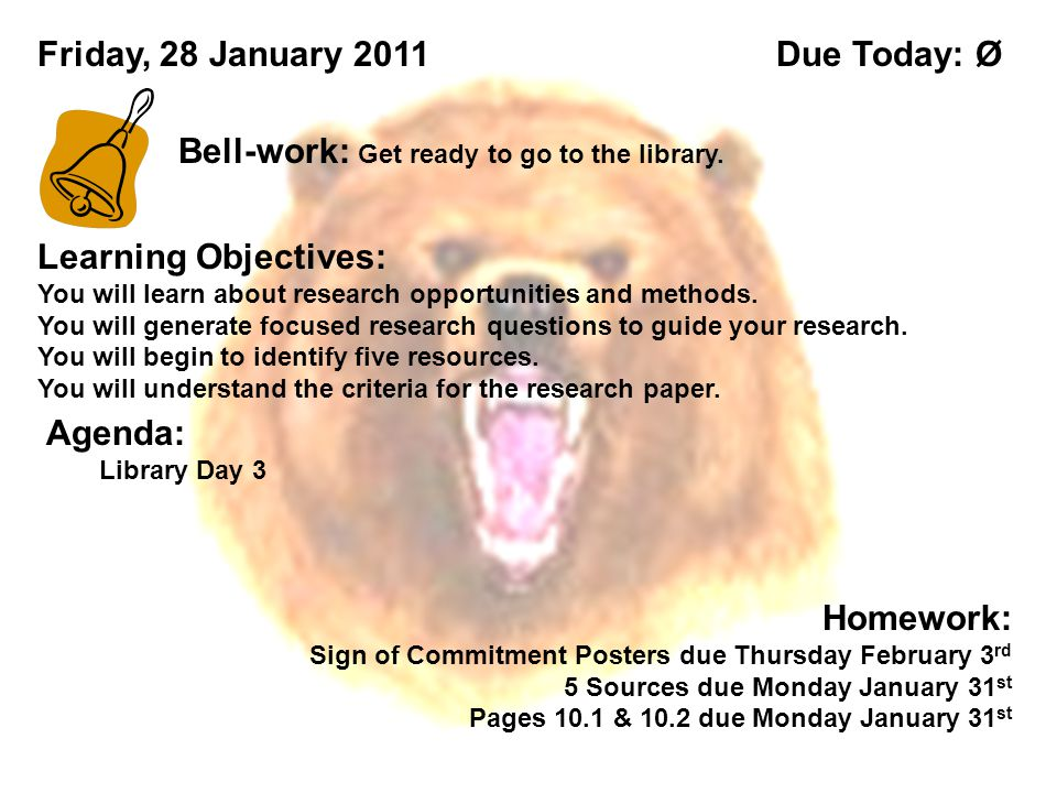 Learning Objectives: You will learn about research opportunities and methods.