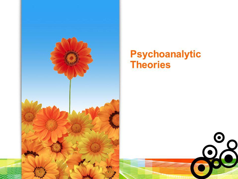 Psychoanalytic Theories