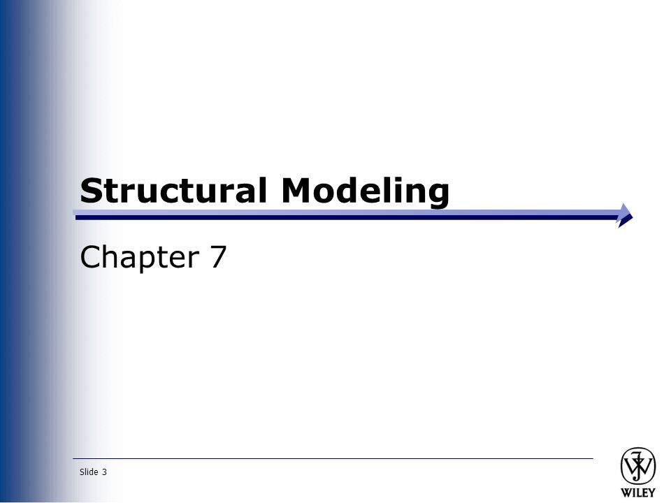 Slide 4 Key Ideas A structural or conceptual model describes the structure of the data that supports the business processes in an organization.