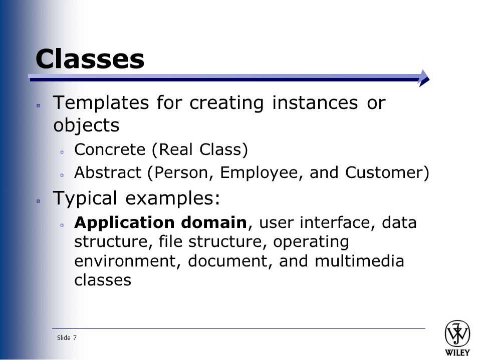 Slide 28 Expanding the Domain A quirky and interesting tutorial regarding CRC cards can be found at: http://www.csc.calpoly.edu/~d butler/tutorials/winter96/crc_b/