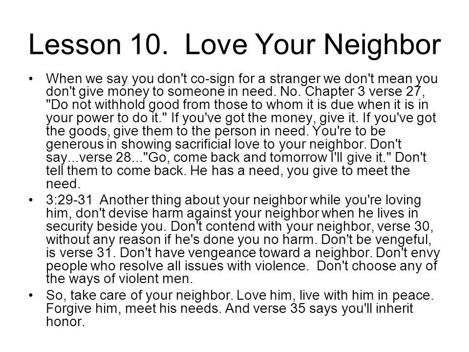 Lesson 10.