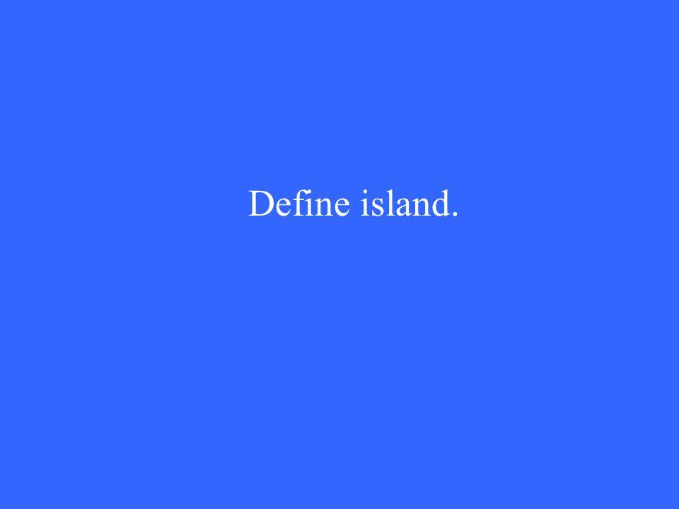Define island.
