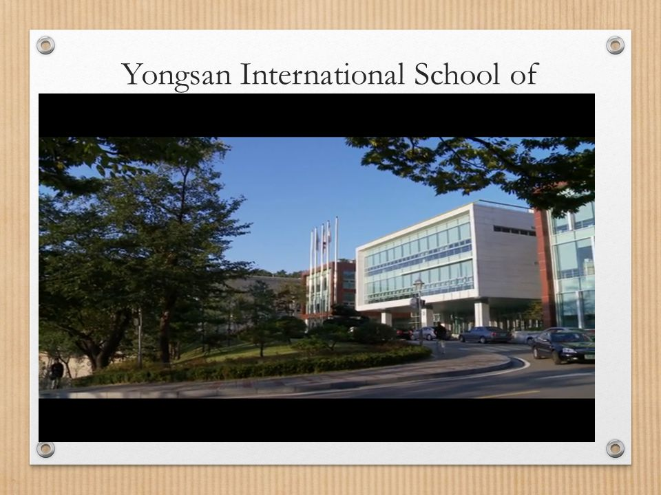 Yongsan International School of Seoul