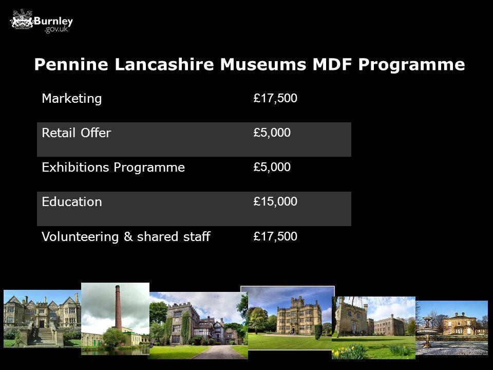 Pennine Lancashire Museums MDF Programme