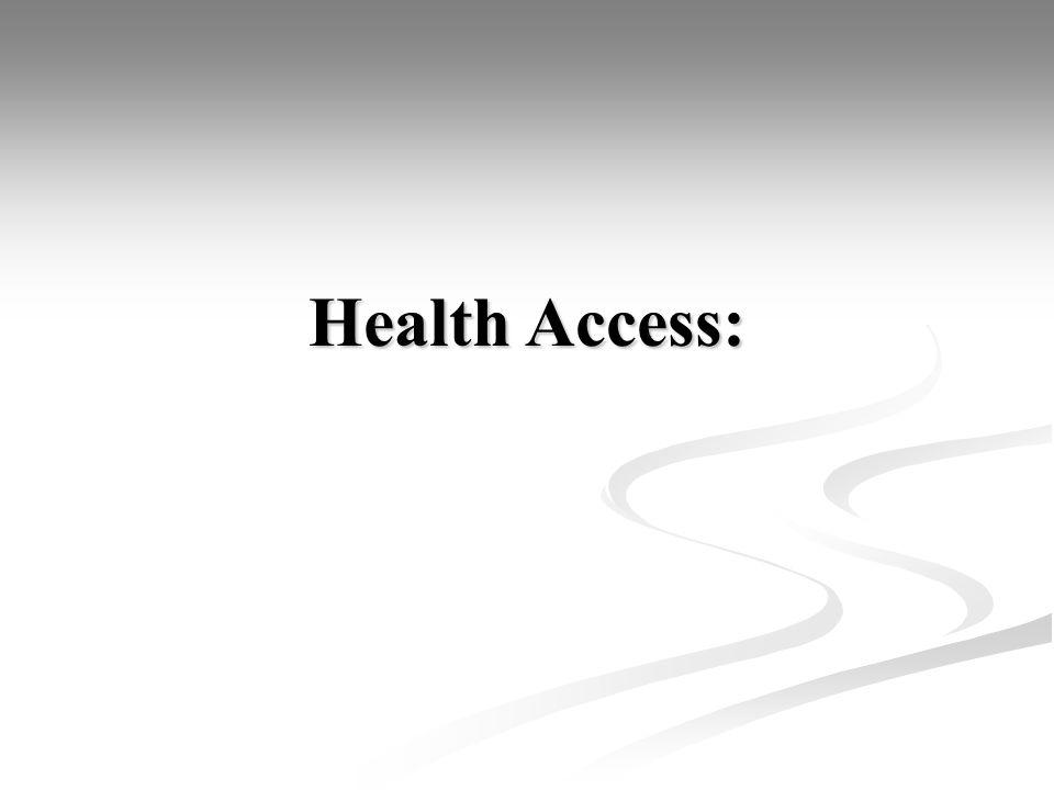Health Access:
