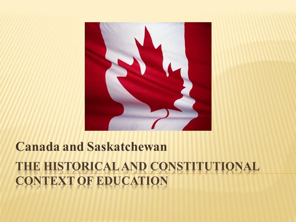 Canada and Saskatchewan