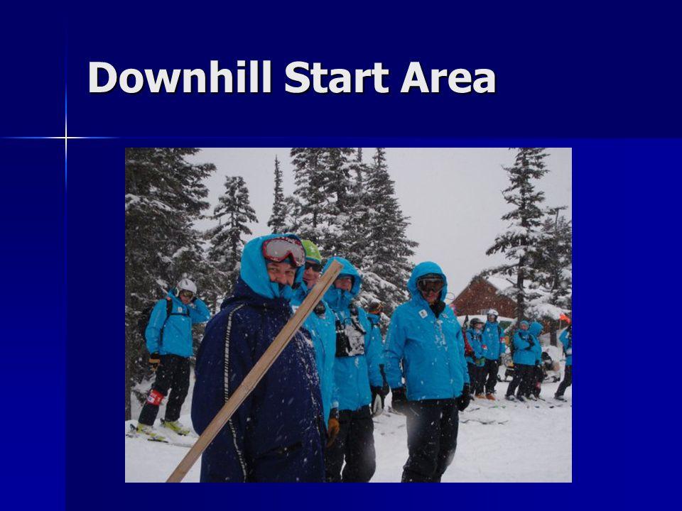 Downhill Start Area