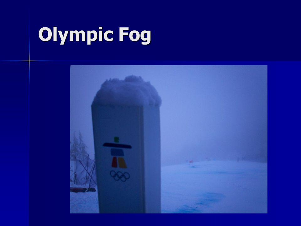 Olympic Fog