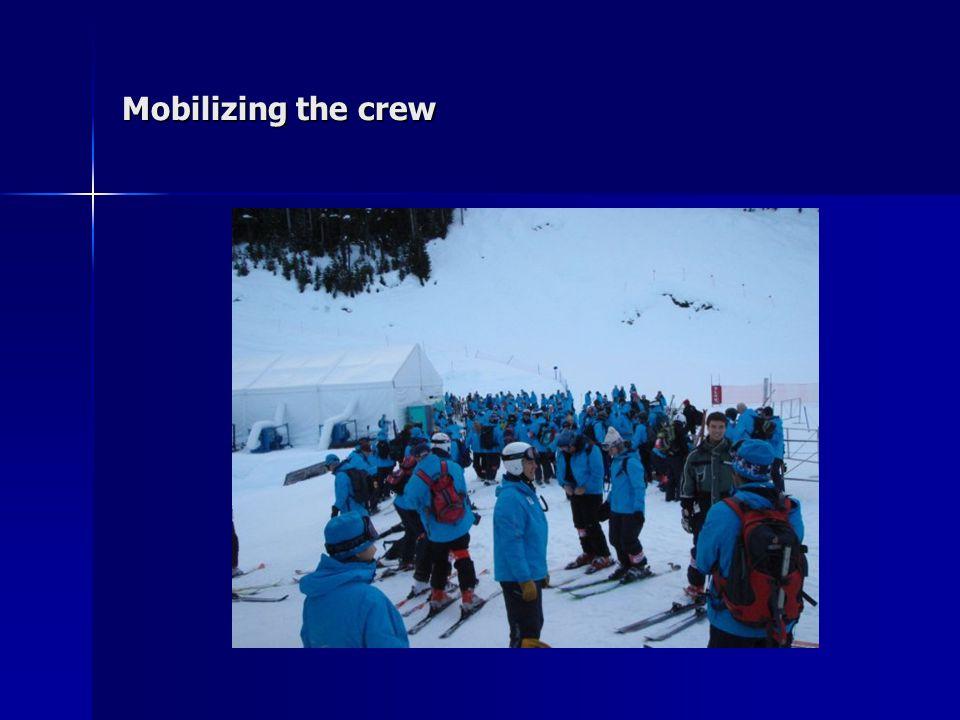 Mobilizing the crew