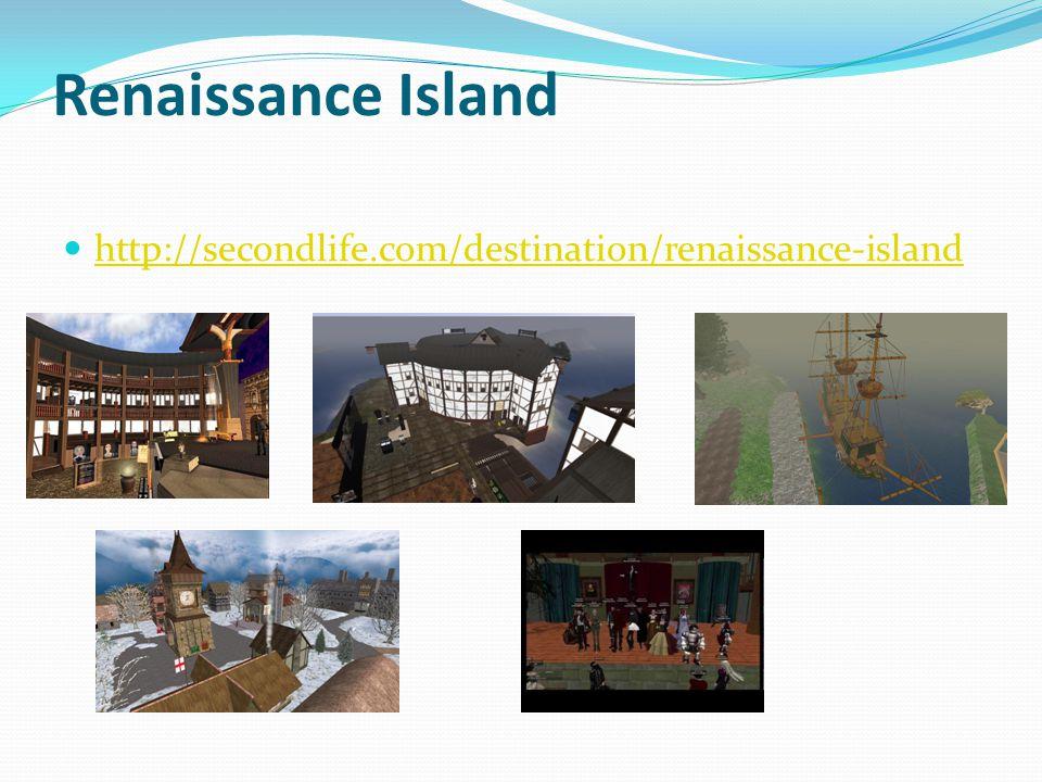 Renaissance Island http://secondlife.com/destination/renaissance-island