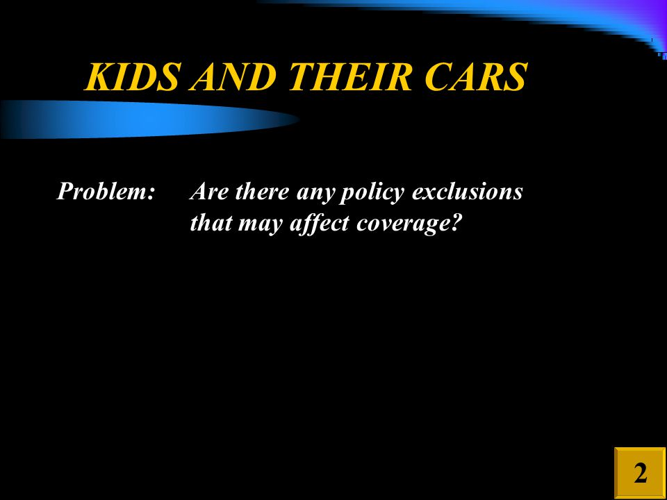 When Extended Non-Owned Coverage – Vehicles Furnished or Available For Regular Use Should have Been Considered 5 3.Any vehicle, other than your covered auto, which is: a.Owned by any family member, or b.Furnished or available for the regular use of any family member. However, this exclusion (B.3.) does not apply to you while you are maintaining or occupying any vehicle which is: a.Owned by a family member; or b.Furnished or available for the regular use of a family member.