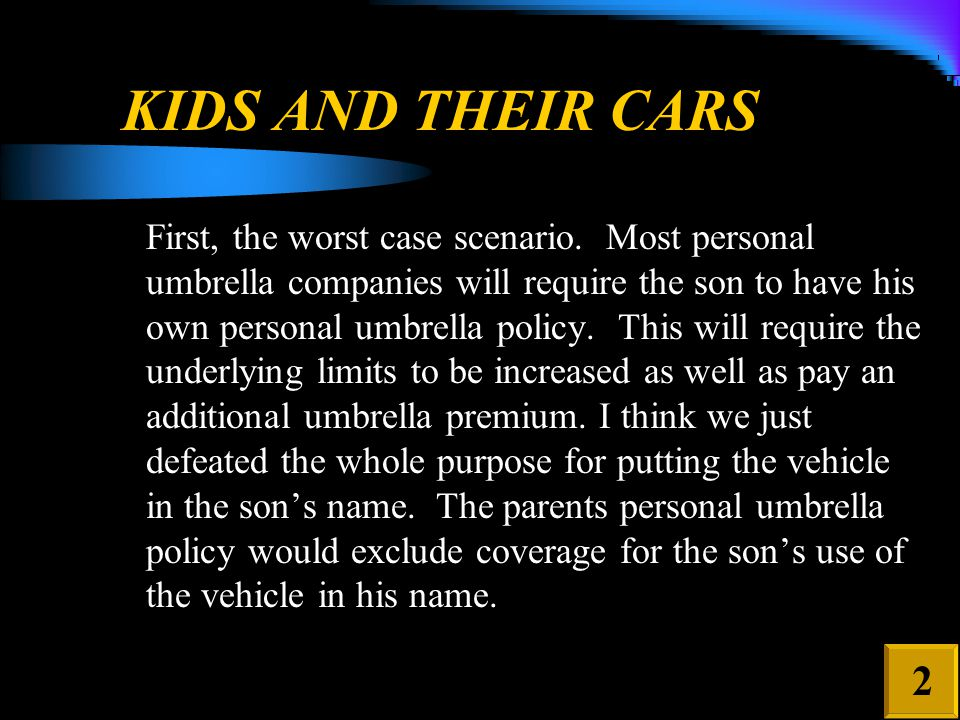 MOTORIZED VEHICLES: DEFINITIONS, Cont.