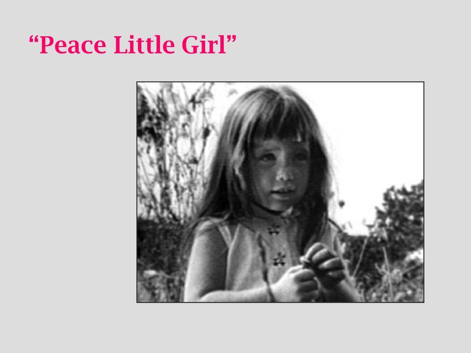 """Peace Little Girl"""