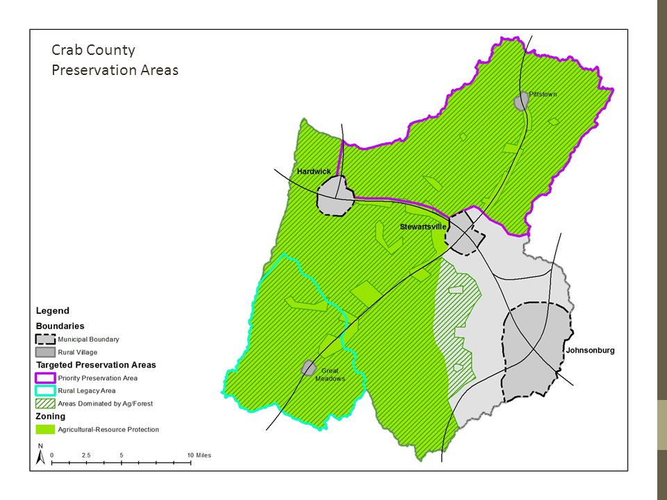 Crab County Preservation Areas