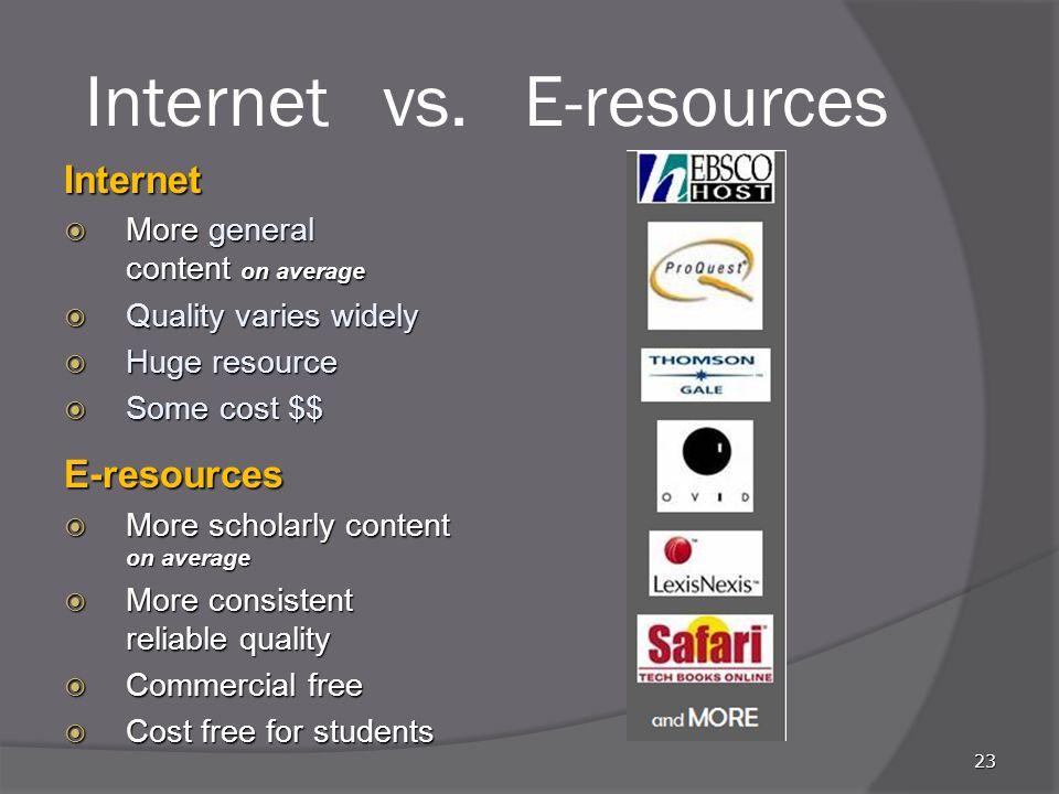 Internet vs.