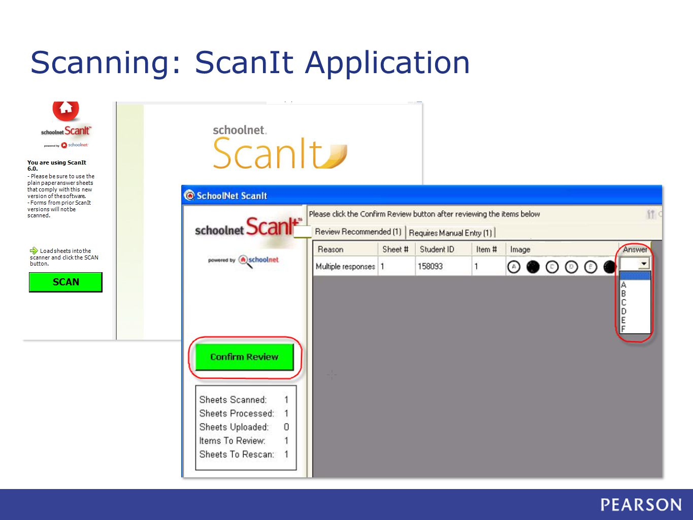 Scanning: ScanIt Application