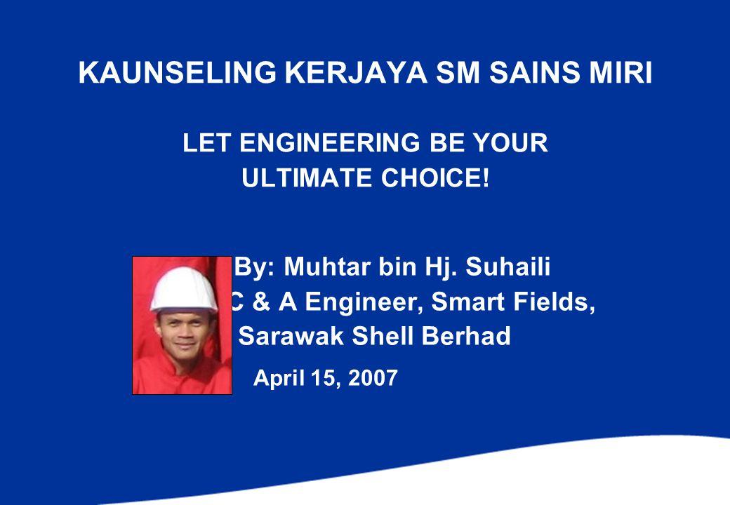 KAUNSELING KERJAYA SM SAINS MIRI LET ENGINEERING BE YOUR ULTIMATE CHOICE.
