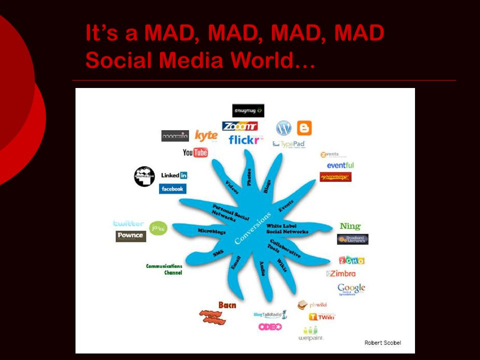 It's a MAD, MAD, MAD, MAD Social Media World…