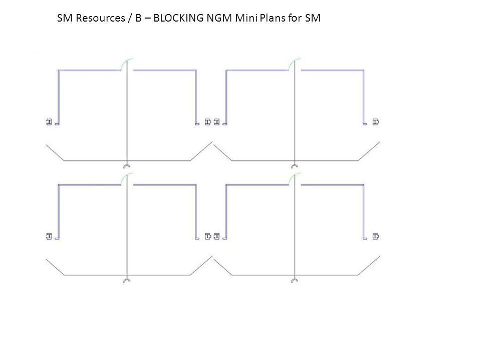 SM Resources / B – BLOCKING NGM Mini Plans for SM