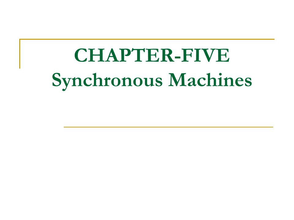 ECEg3202:- Introduction to Electrical Machine By Dawit Habtu 12