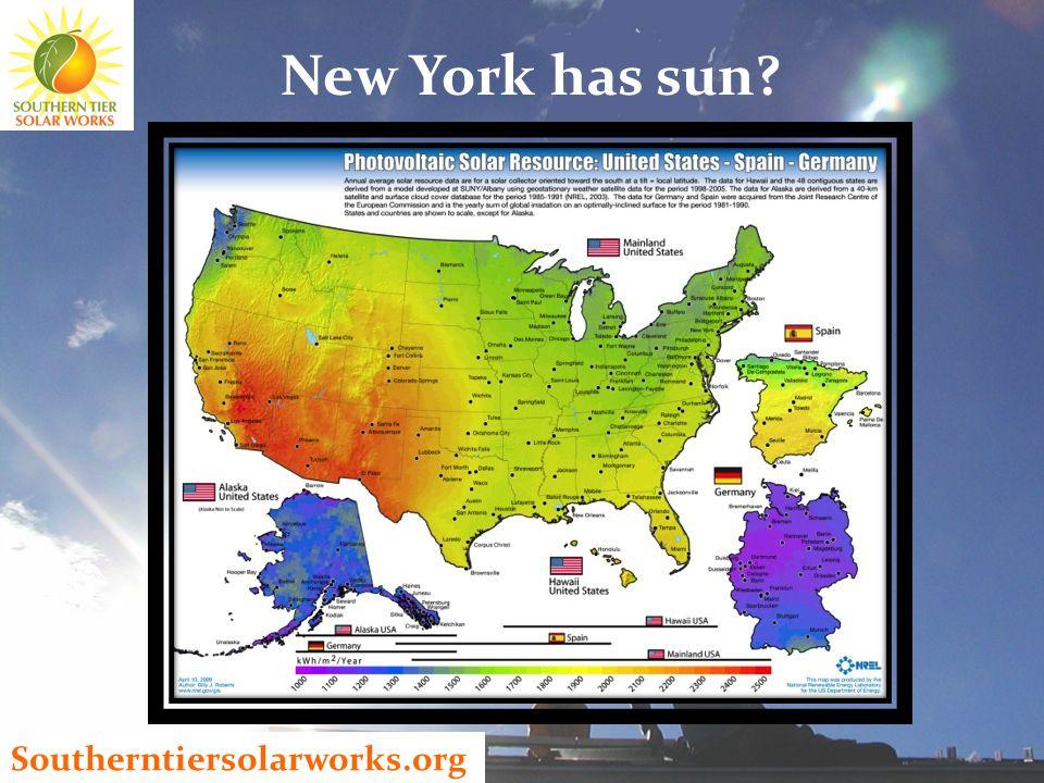 Southerntiersolarworks.org New York has sun