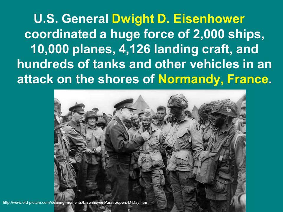 U.S. General Dwight D.