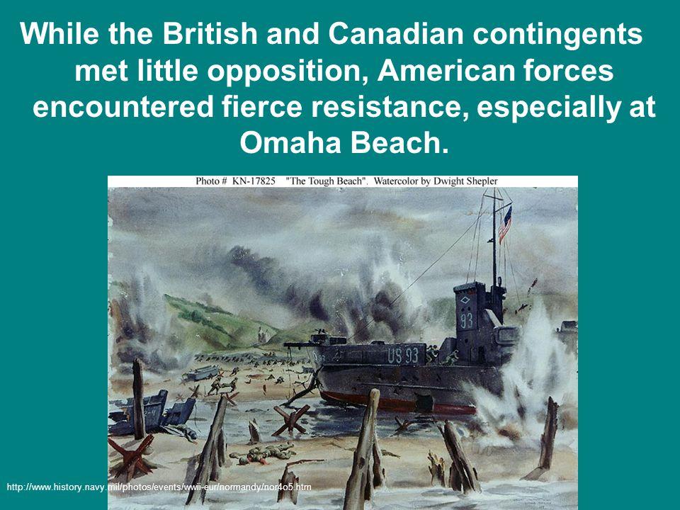 I noticed a G.I.running, trying to get across the beach…an enemy gunner shot him.