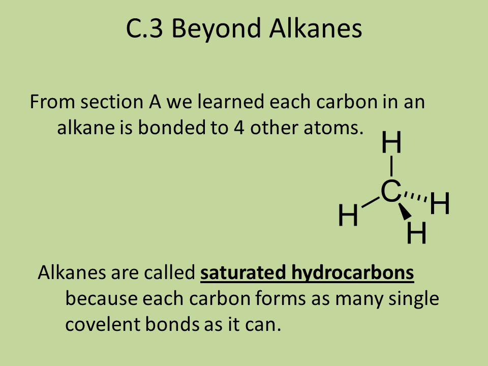 C.2 Polymer Structure & Properties (continued) If we are trying to design a more rigid molecule we may not want them to move or slide as easily. This