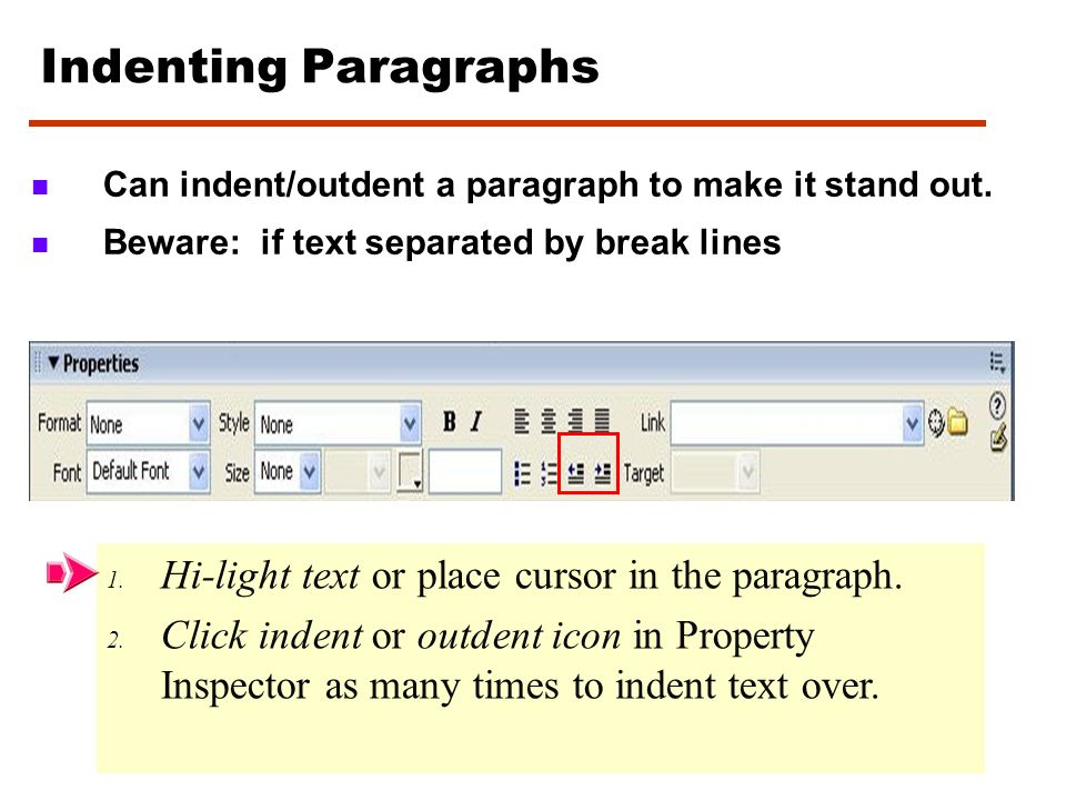 Formatting text Control: a) a)Headers ie. H1, H2, H3, H4, H5, H6 (predefined approximate sizes and bolds text) b) b)Text color ie. Blue, green, red,….
