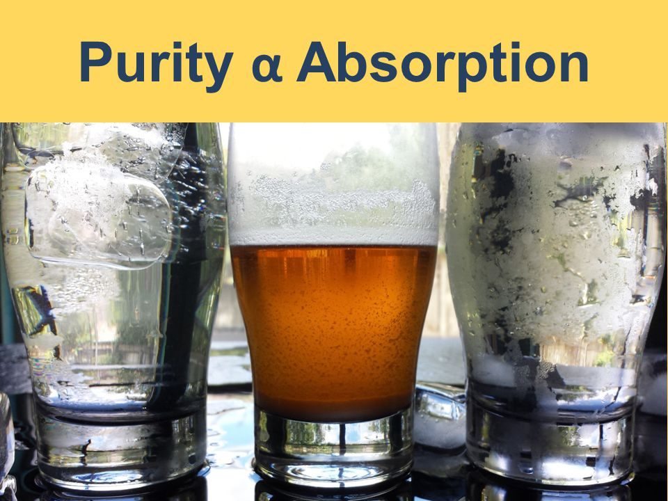 Purity α Absorption