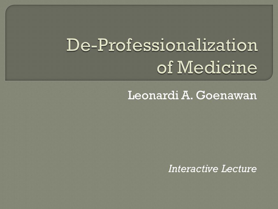 Leonardi A. Goenawan Interactive Lecture