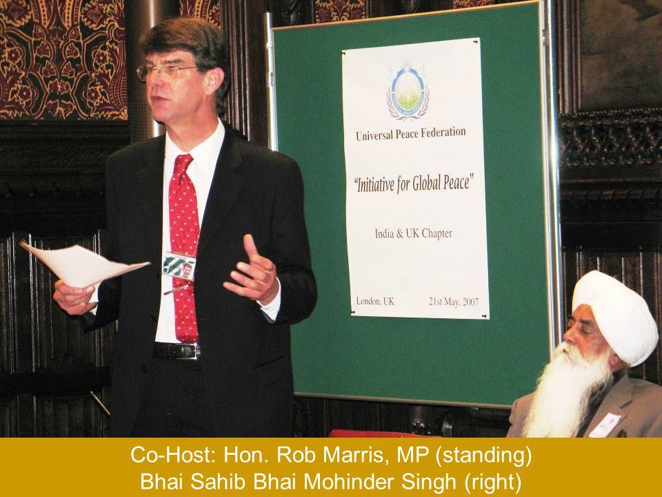 H.E. Kamalesh Sharma, Indian High Commissioner and Dr. L.M. Singhvi