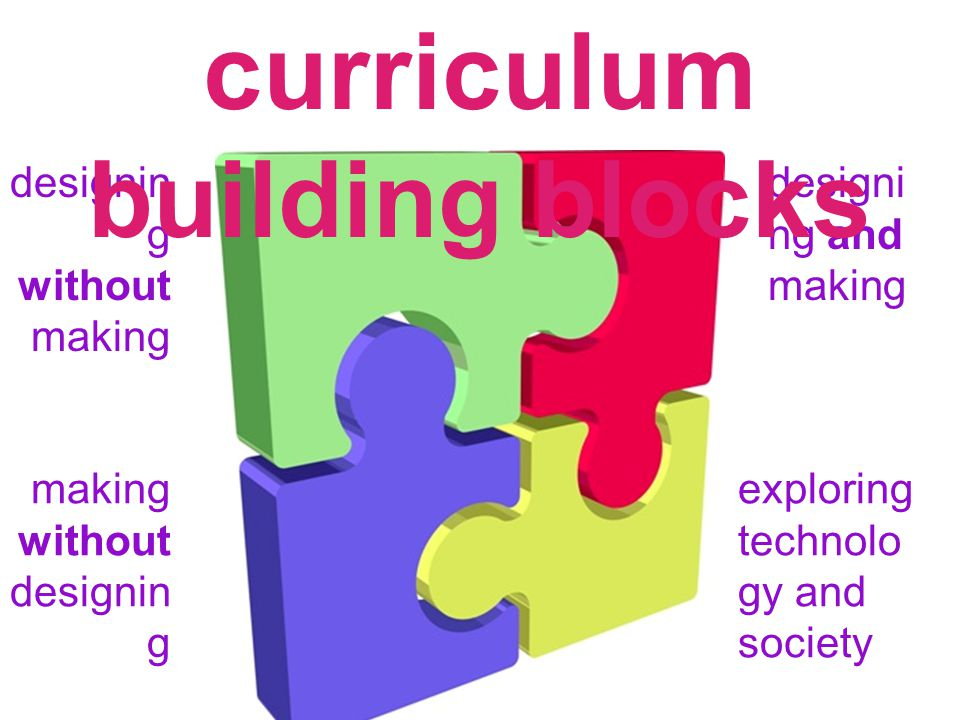 designin g without making making without designin g designi ng and making exploring technolo gy and society curriculum building blocks