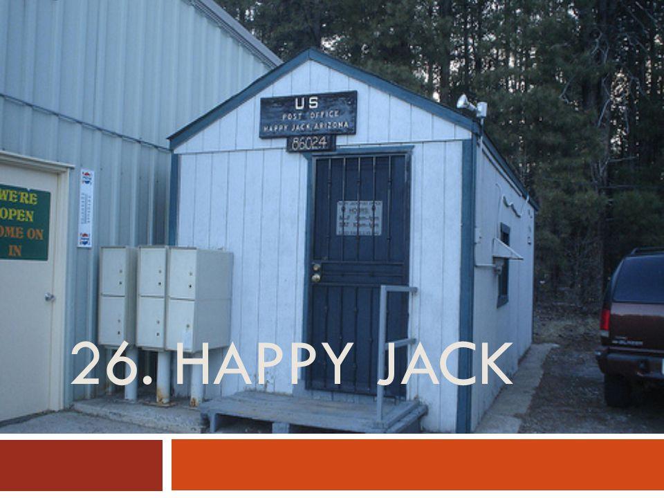 26. HAPPY JACK