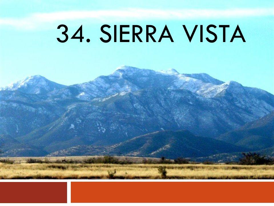 34. SIERRA VISTA