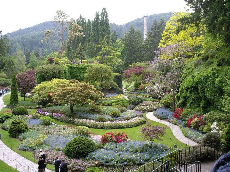 6. Butchart Gardens – Victoria, B.C. Canada