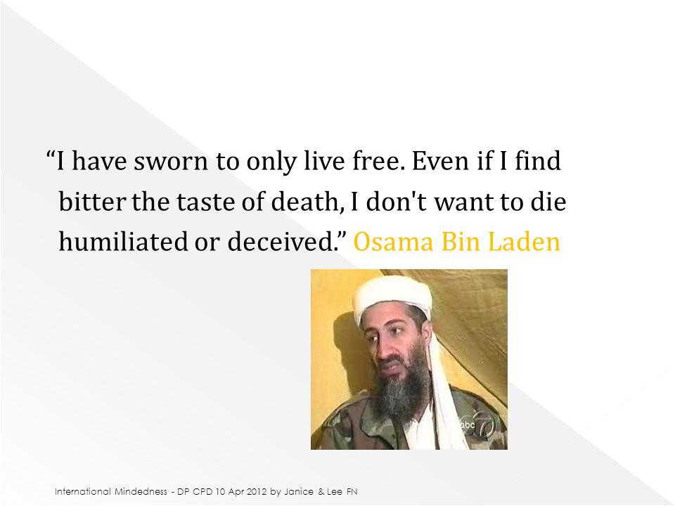 George W.Bush, Madonna, Mother Theresa, Osama Bin Laden, Kofi Annan.