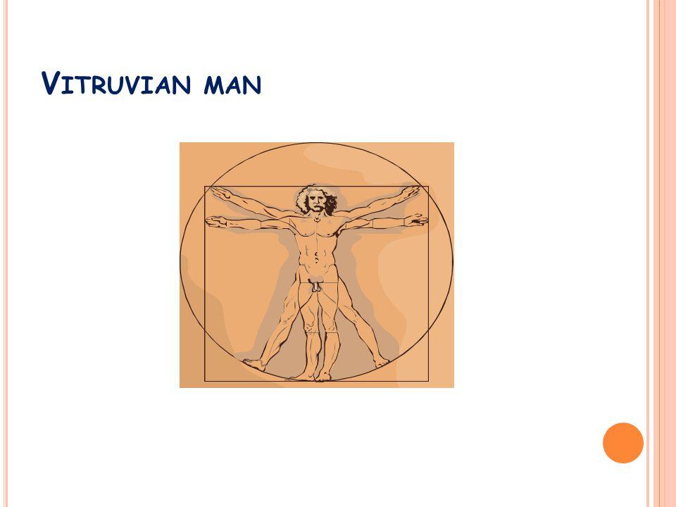 V ITRUVIAN MAN
