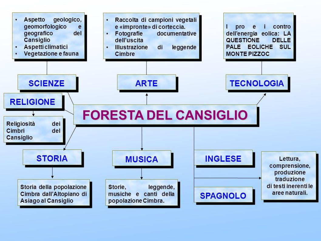 FORESTA DEL CANSIGLIO SCIENZE ARTE TECNOLOGIA STORIA MUSICA INGLESE SPAGNOLO Aspetto geologico, geomorfologico e geografico del Cansiglio Aspetti clim