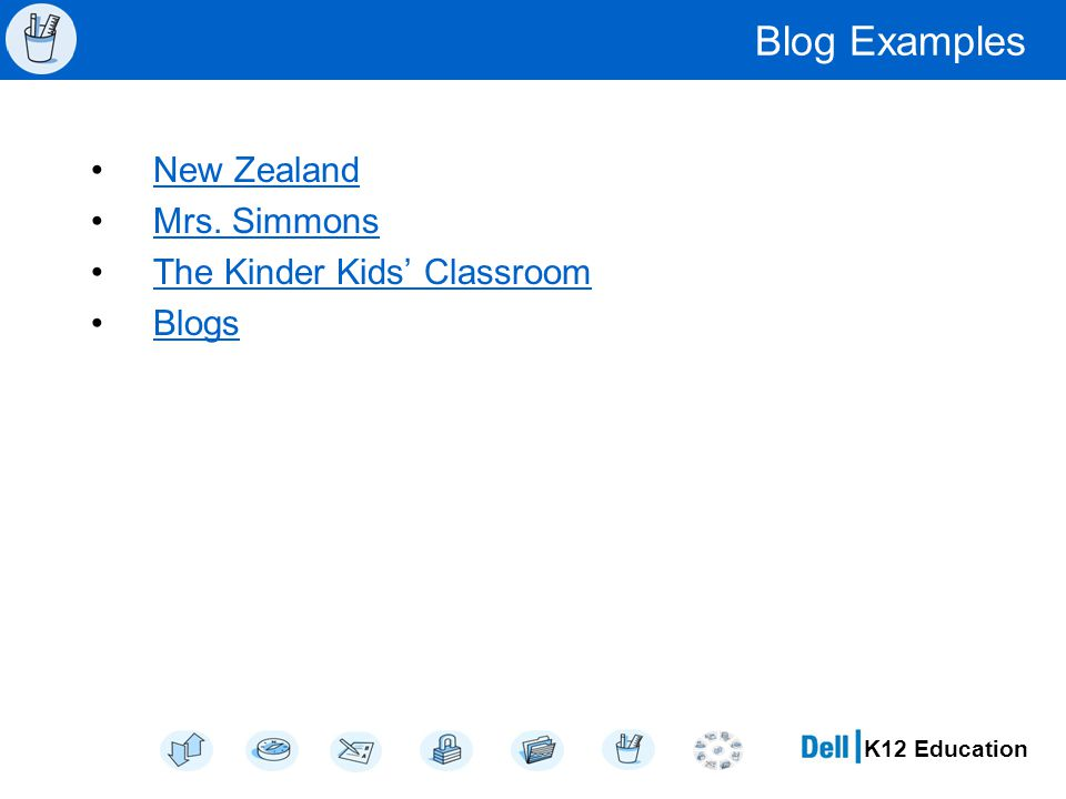 K12 Education Blog Examples New Zealand Mrs. Simmons The Kinder Kids' Classroom Blogs