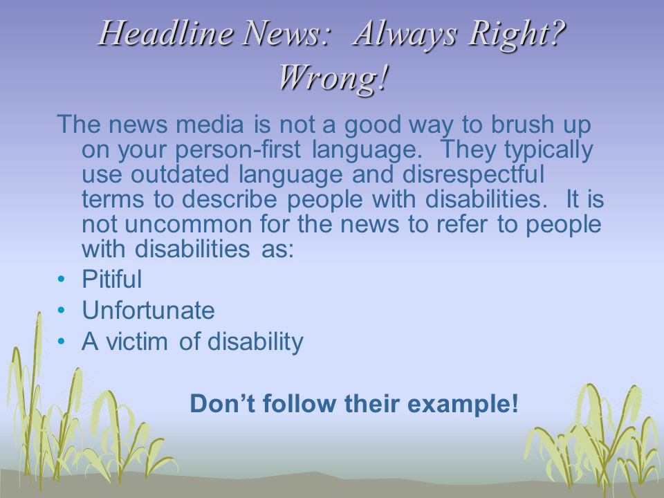 Headline News: Always Right. Wrong.