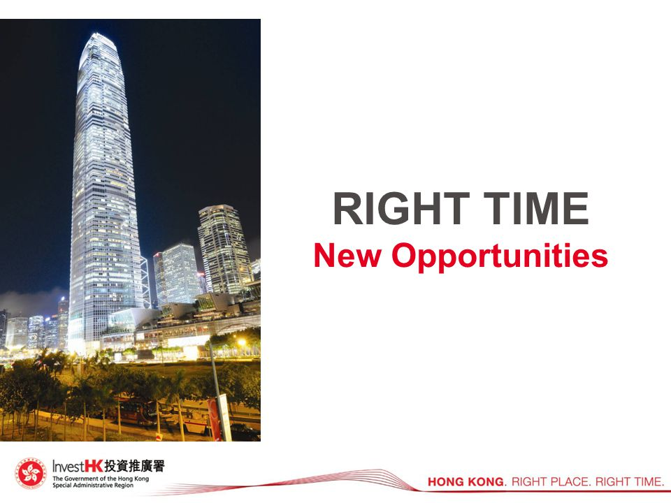 RIGHT TIME New Opportunities