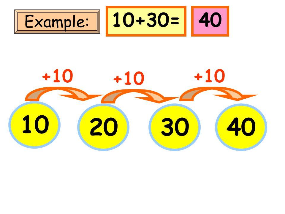 5 Example: 152535 +10 5+30=35