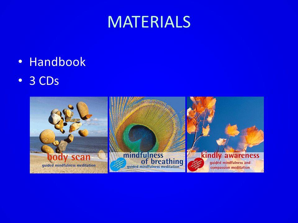MATERIALS Handbook 3 CDs