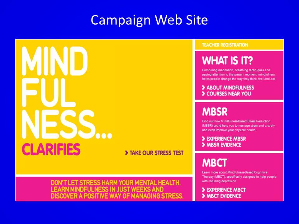 Campaign Web Site